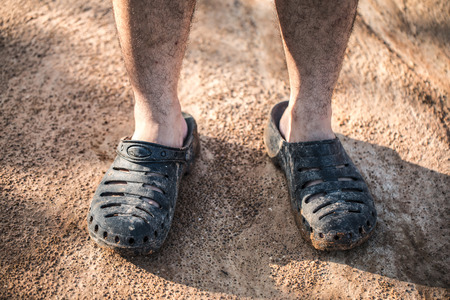 dirty: dirty shoes