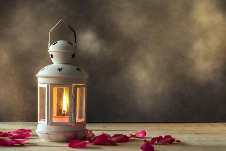 蝋燭の照明 写真素材