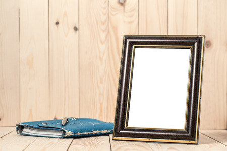 improvment: Frame with book