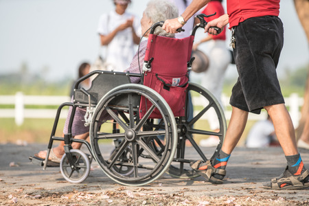 care giver: elders care