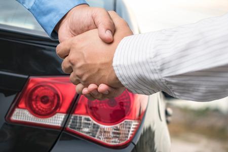 buying: Man buying car