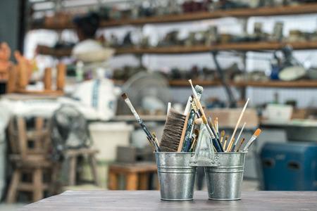 sculpt: Arts and crafts tools Artists brush
