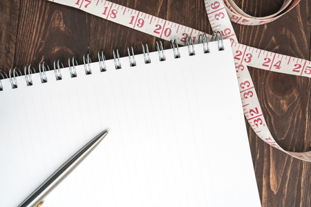 mindmap: Notebook, journal writing exercise. Stock Photo