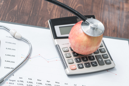 escalating: Cost of health care Stock Photo