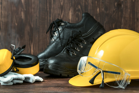 personal protective equipment: Standard construction safety