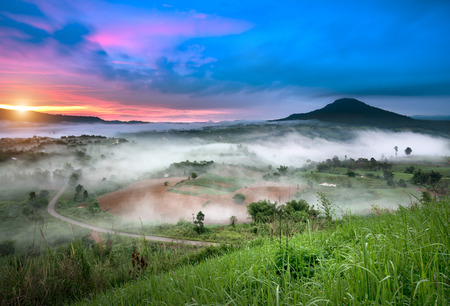 scenary: beautiful scenary in the north part of Thailand
