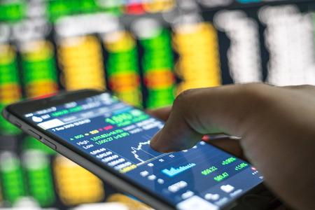 stock analysis Stock Photo
