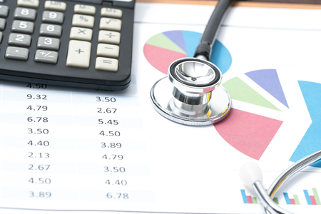 hospital expenses: Concept Medical business