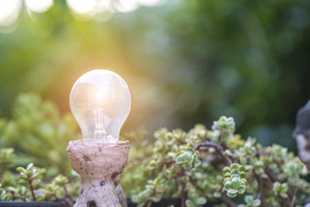 idea or energy concept