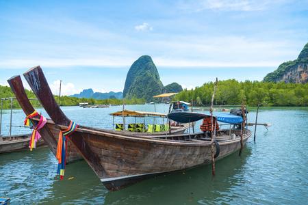 Long boat in Krabi, Thailand