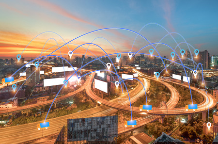 Technology GPS transport Use tracking
