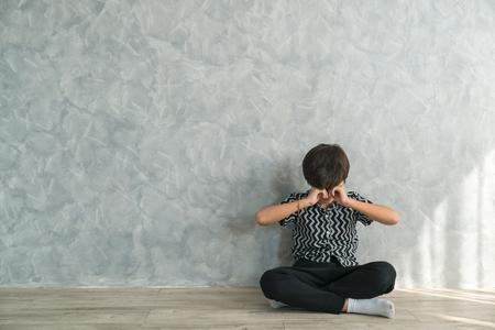 boy crying bitterly Problem children