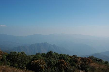 Mountain Vista in Mae Hong Son I photo