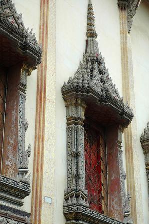 samutprakarn: Window Frame of Old Chapel