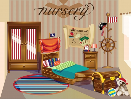 toy chest: nursery boy