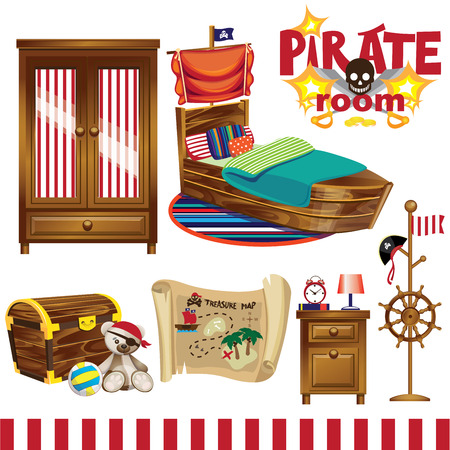 nursery room: pirate room boy