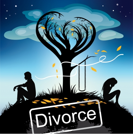 divorse Stock Vector - 24196884