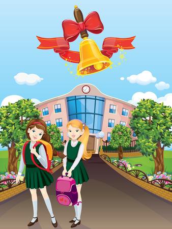 grader: schoolgirls