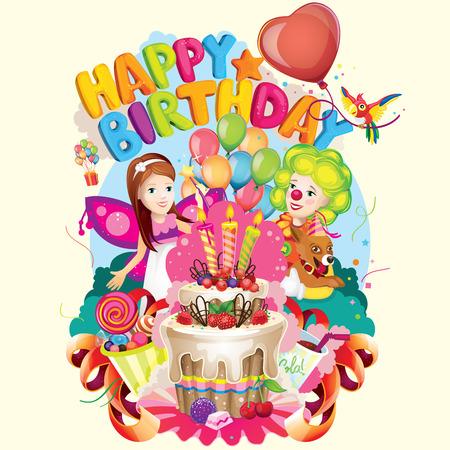 animator: Happy Birthday party