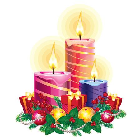 smolder: Christmas candles