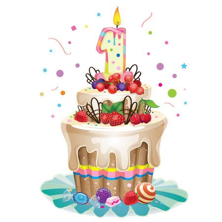 burn out: Gelukkig Verjaardagstaart 1