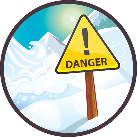danger: avalanche danger