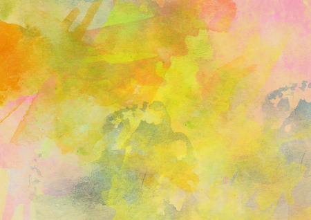 verdant: Colorful Watercolor Background for Various Design and other Stock Photo