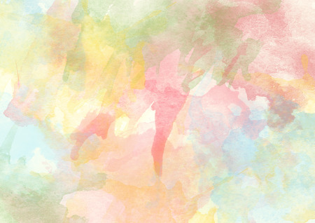 Colorful Watercolor Background for Various Design and other Stock Photo