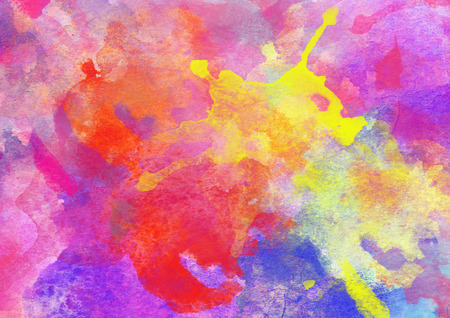 Colorful Watercolor Background for various design