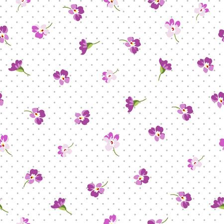 petites fleurs: bagout Seamless floral avec des petites fleurs roses