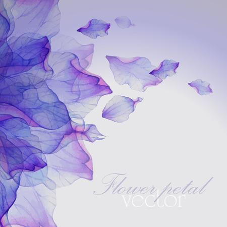 Vattenfärg blommor runda mönster.