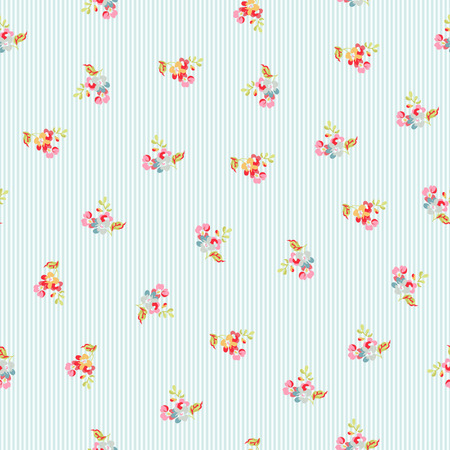 red rose bouquet: Seamless Pattern with little flowers