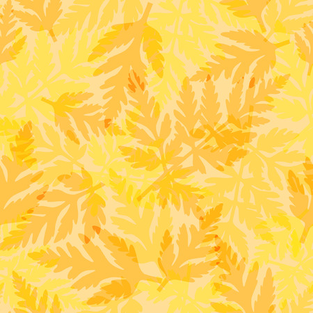 foliage  natural: Seamless pattern with fern