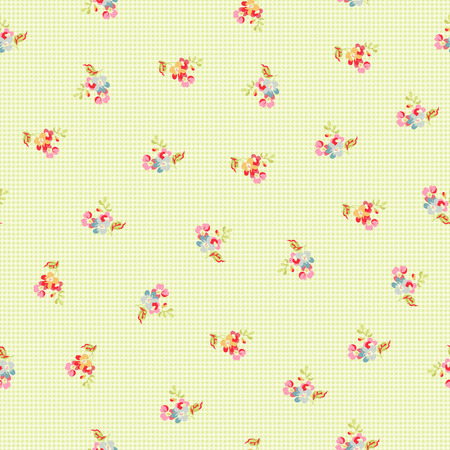 petites fleurs: Motif continu de petites fleurs