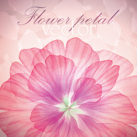 수채화 꽃 라운드 패턴.