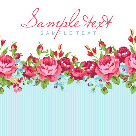 rosas rojas: Tarjeta de felicitación con Rosa Roja