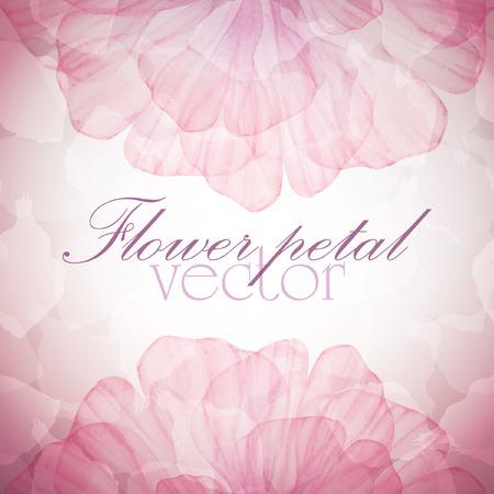 durazno: Acuarela tarjeta floral de la vendimia