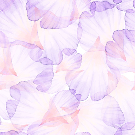 pastel backgrounds: Watercolor Seamless pattern. Pink flower petal.