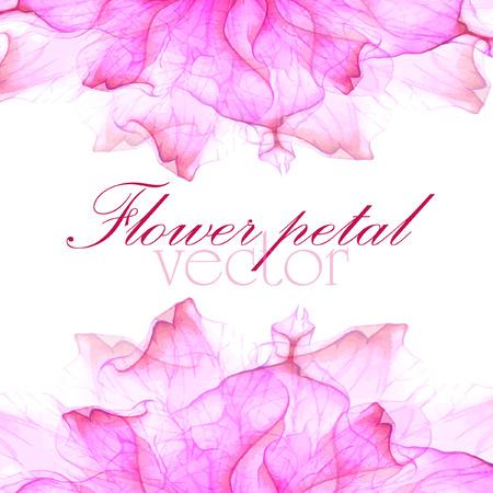 flores moradas: Acuarela tarjetas de felicitación florales. Vectores