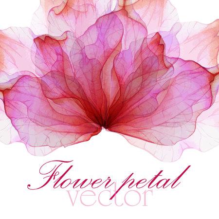 수채화 꽃 라운드 패턴