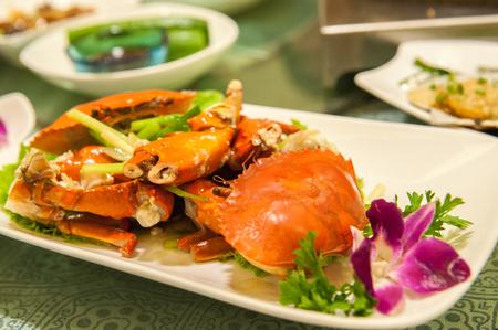 ocea: Chinese crab dish Stock Photo