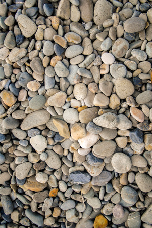 smooth stones: Collection of smooth stones on a beach