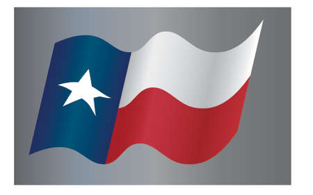 National Flag of Texas State