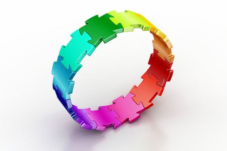 3d puzzle ring