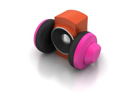 subwoofer: loudspeaker and headset