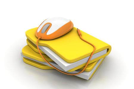 web directories: mouse with file folder