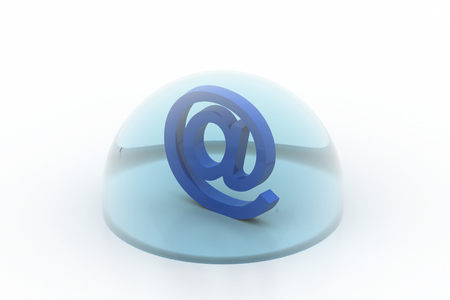E mail sign in bubble
