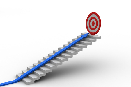 Way to success  Stock Photo