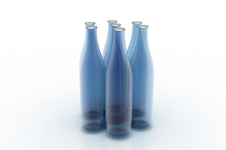 Set of bottles Stok Fotoğraf - 89484496