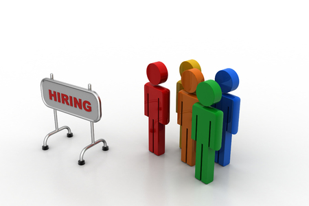 Board for hiring and people